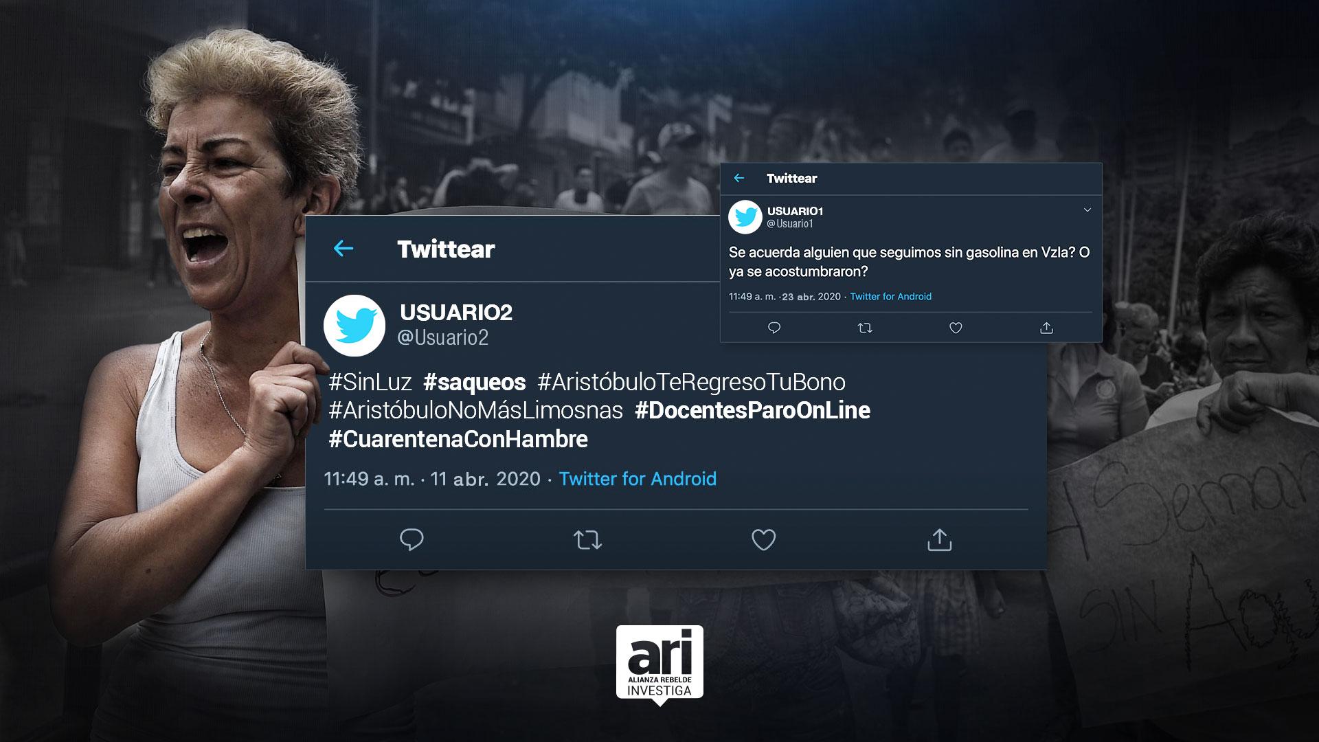 La protesta social en Venezuela también es digital