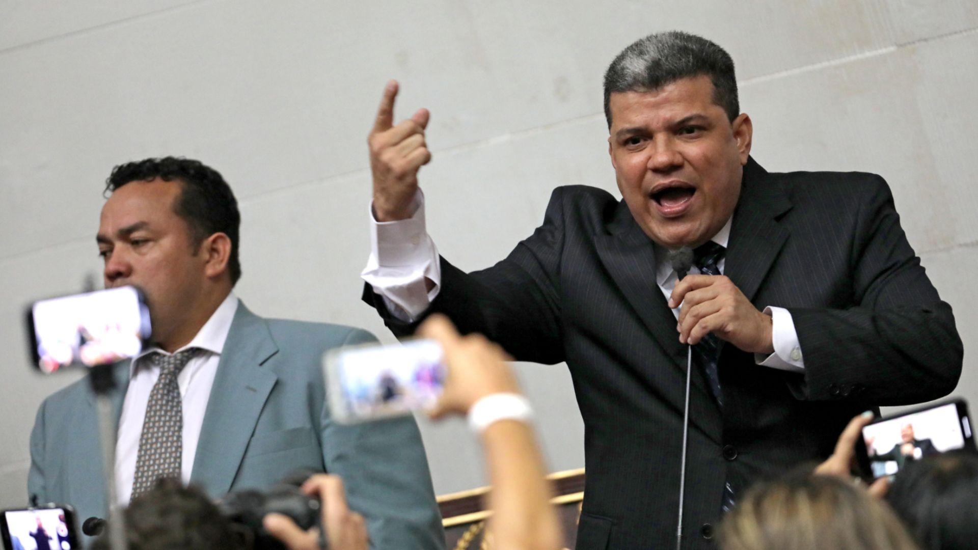UE sancionó a Luis Parra y a diversos funcionarios de Maduro