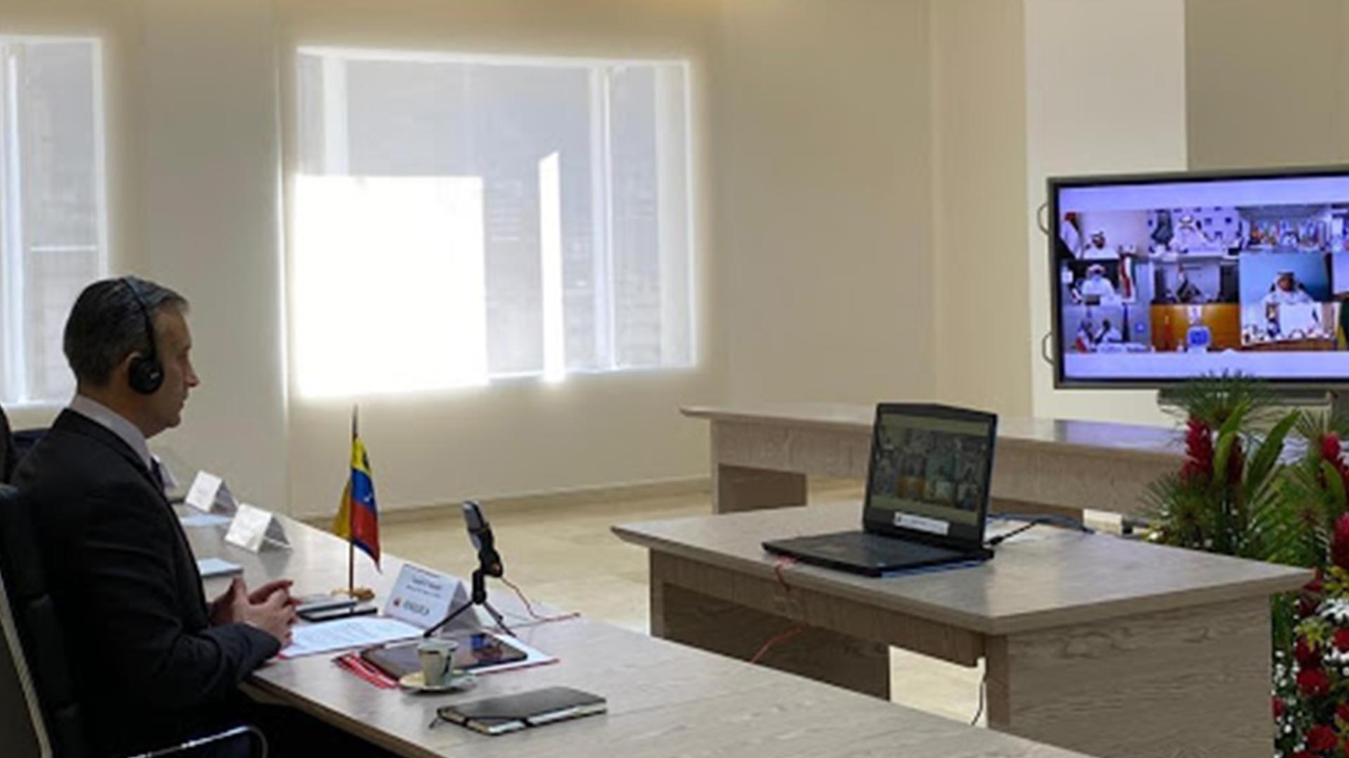 Tareck El Aissami dirige por Venezuela la 179ª conferencia ministerial de la OPEP