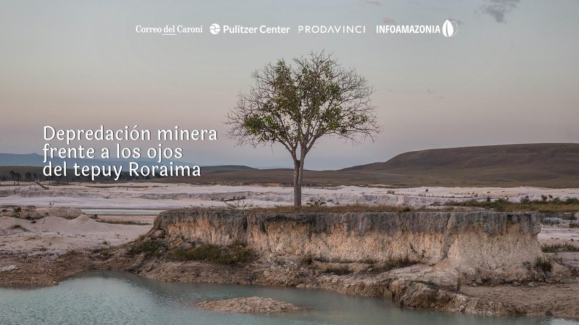 Más de 500 hectáreas en la Gran Sabana están intervenidas por la minería ilegal