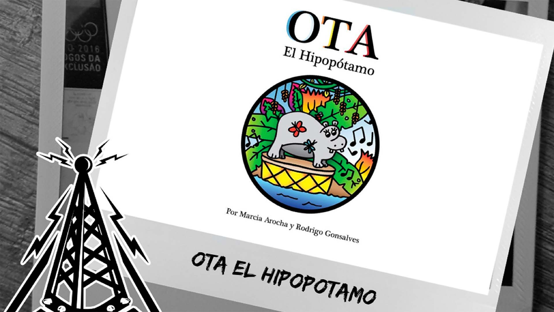 """Humano Derecho #167 con Rodrigo Gonsalves, cocreador de la historia de """"Ota el Hipopótamo"""""""