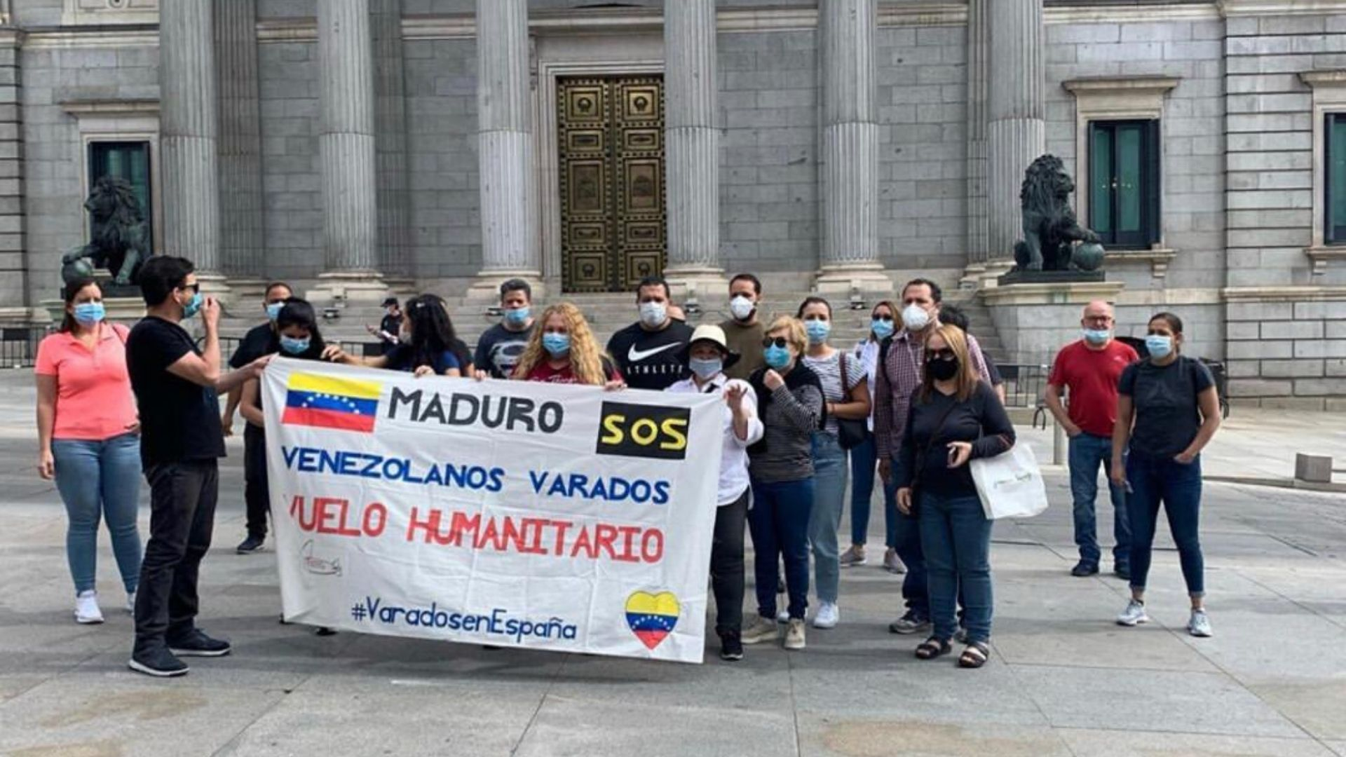 Maduro se niega a que venezolanos en España regresen en vuelo español