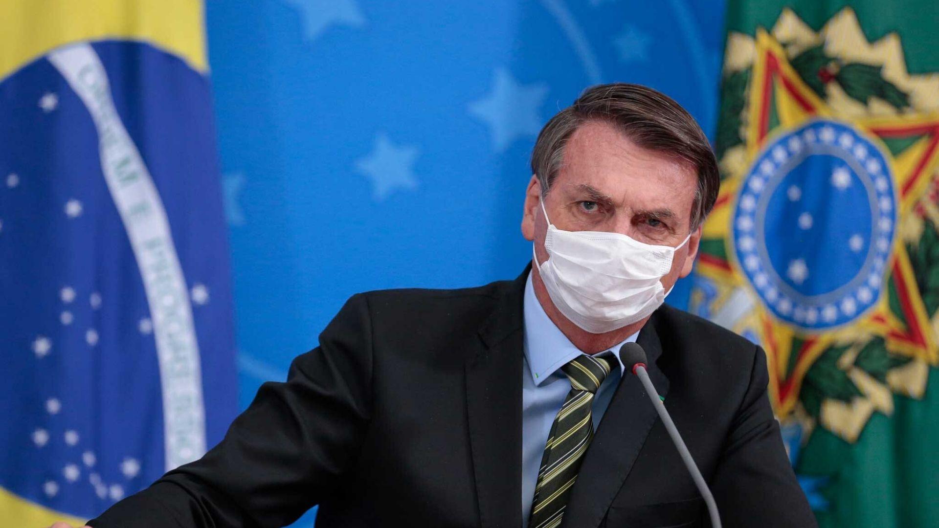 Presidente Jair Bolsonaro anunció que dio positivo por COVID-19