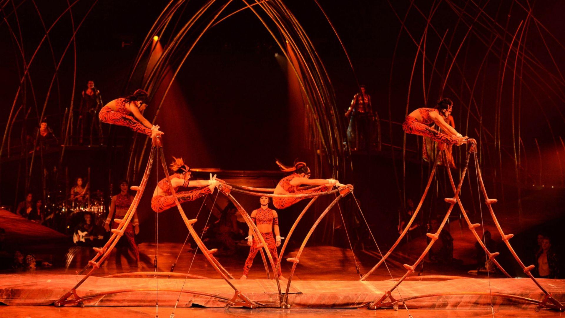 #PasandoLaCuarentena   Cirque du Soleil permite disfrutar de sus espectáculos online y gratis