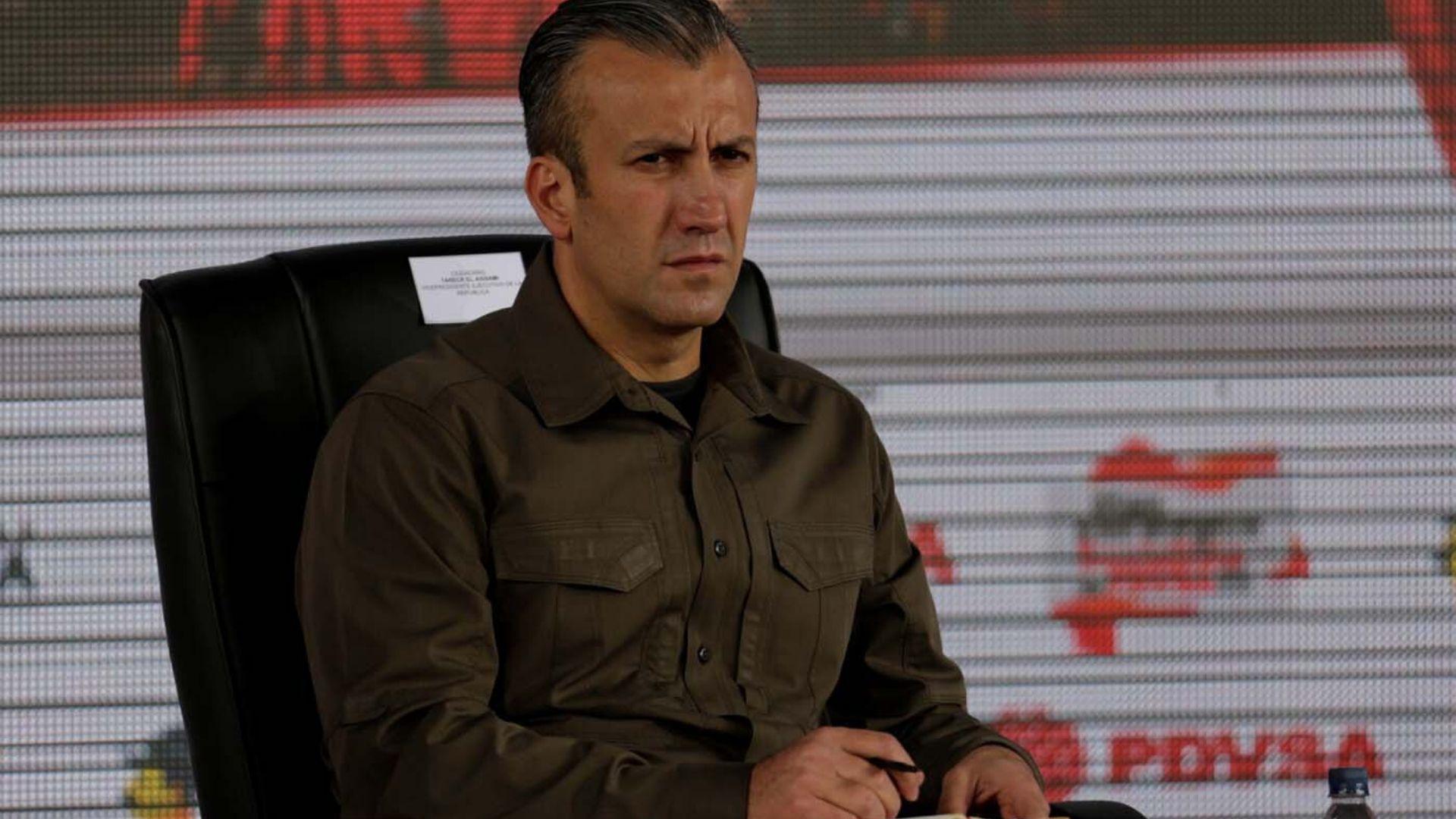 Tareck El Aissami informó que fue diagnosticado con COVID-19