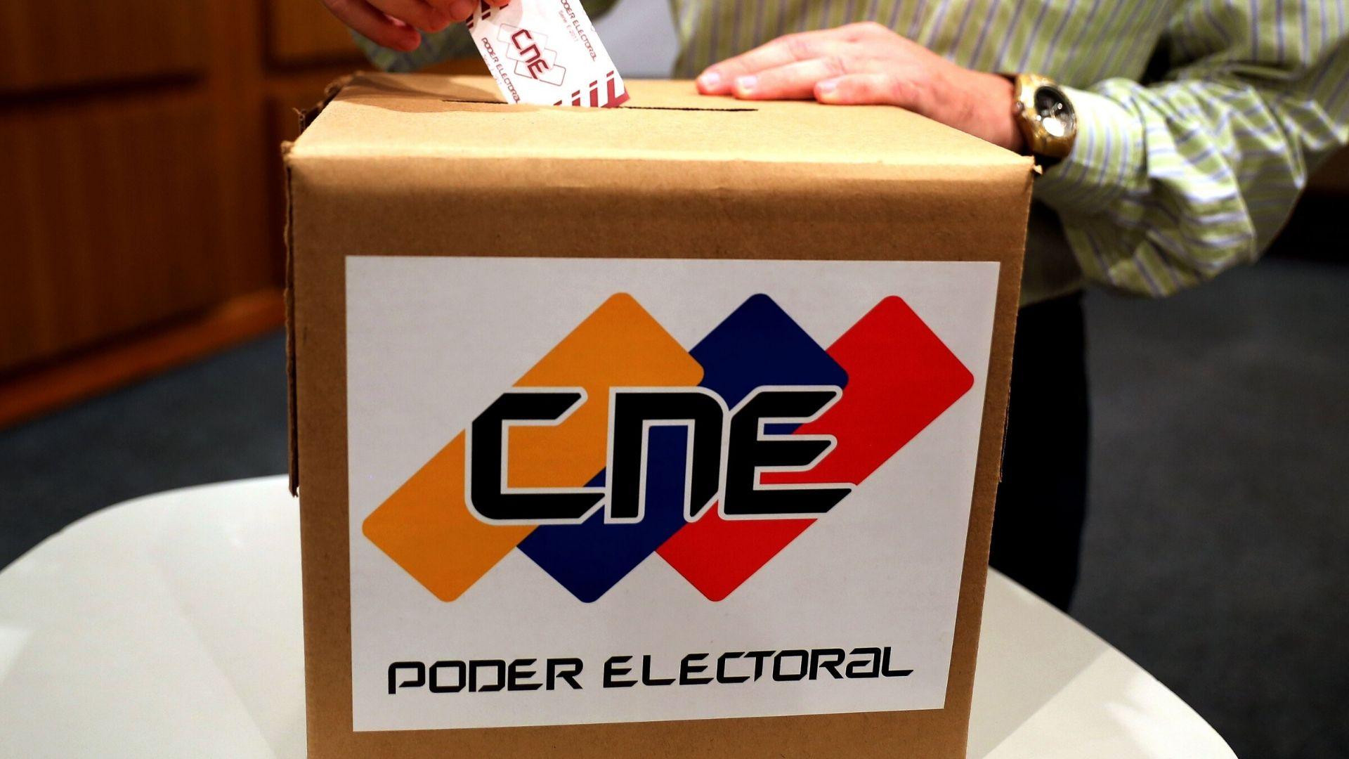 CNE difundió lista de circunscripciones para las parlamentarias