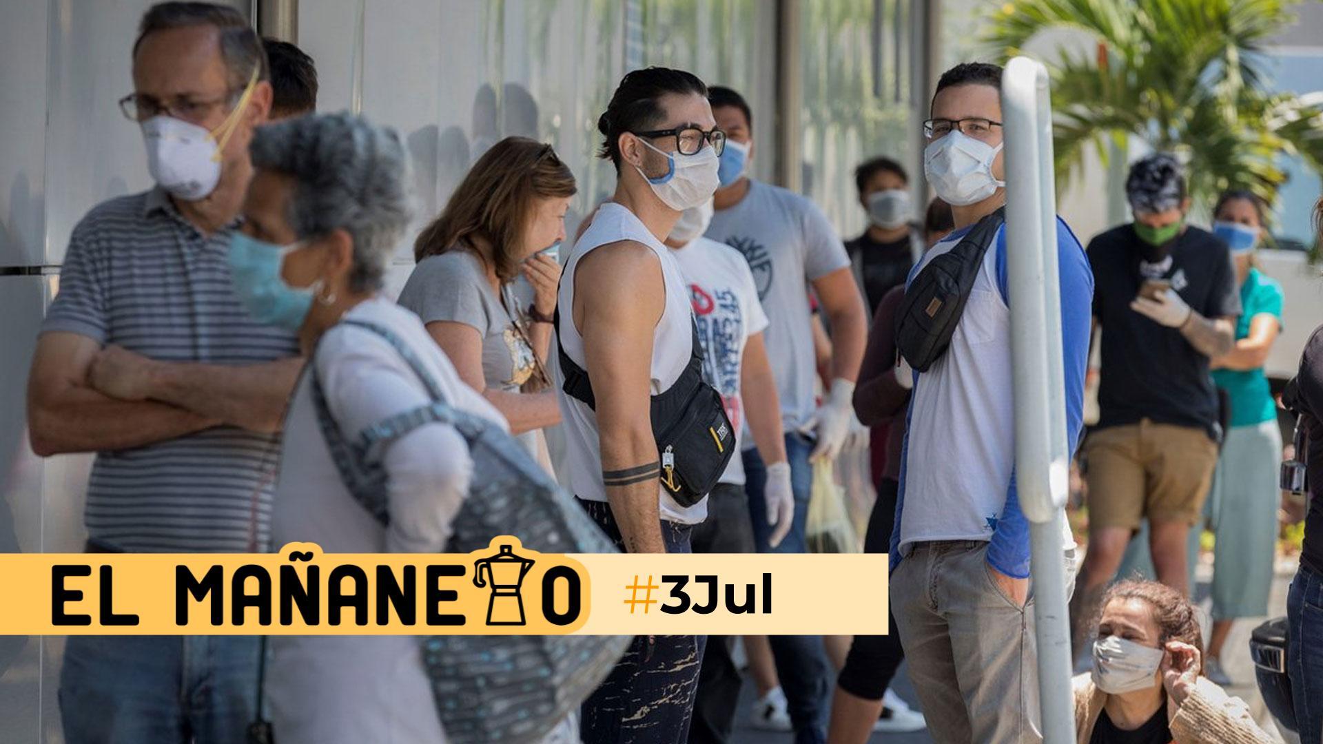 El Mañanero de hoy #3Jul: Las 8 noticias que debes saber