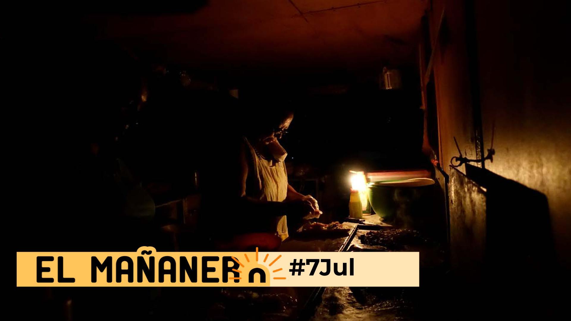 El Mañanero de hoy #7Jul: Las 8 noticias que debes saber