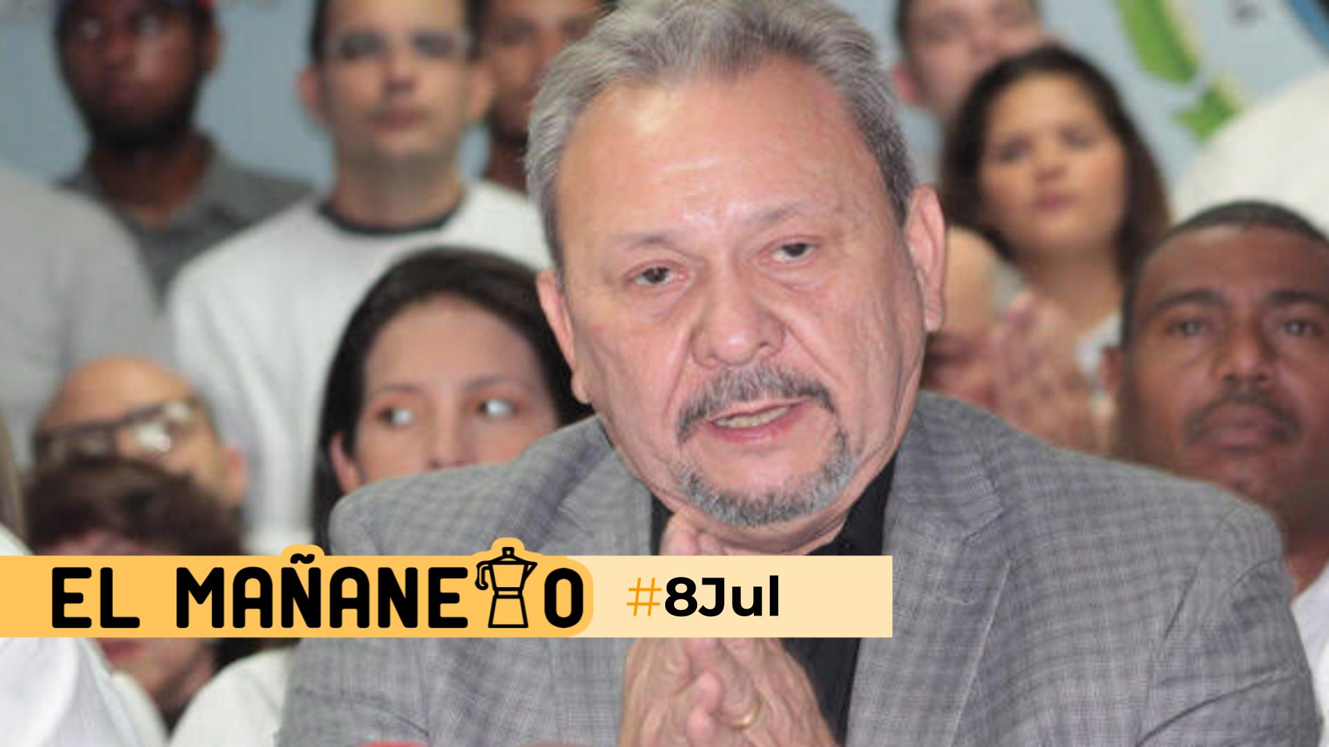 El Mañanero de hoy #8Jul: Las 8 noticias que debes saber