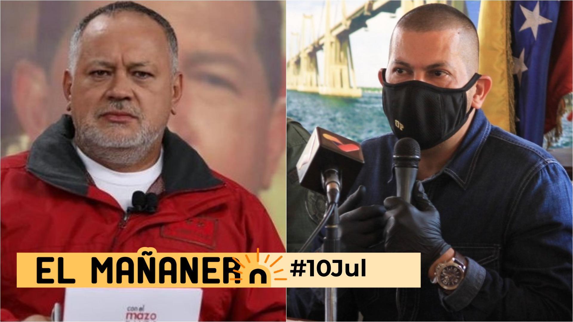 El Mañanero de hoy #10Jul: Las 8 noticias que debes saber