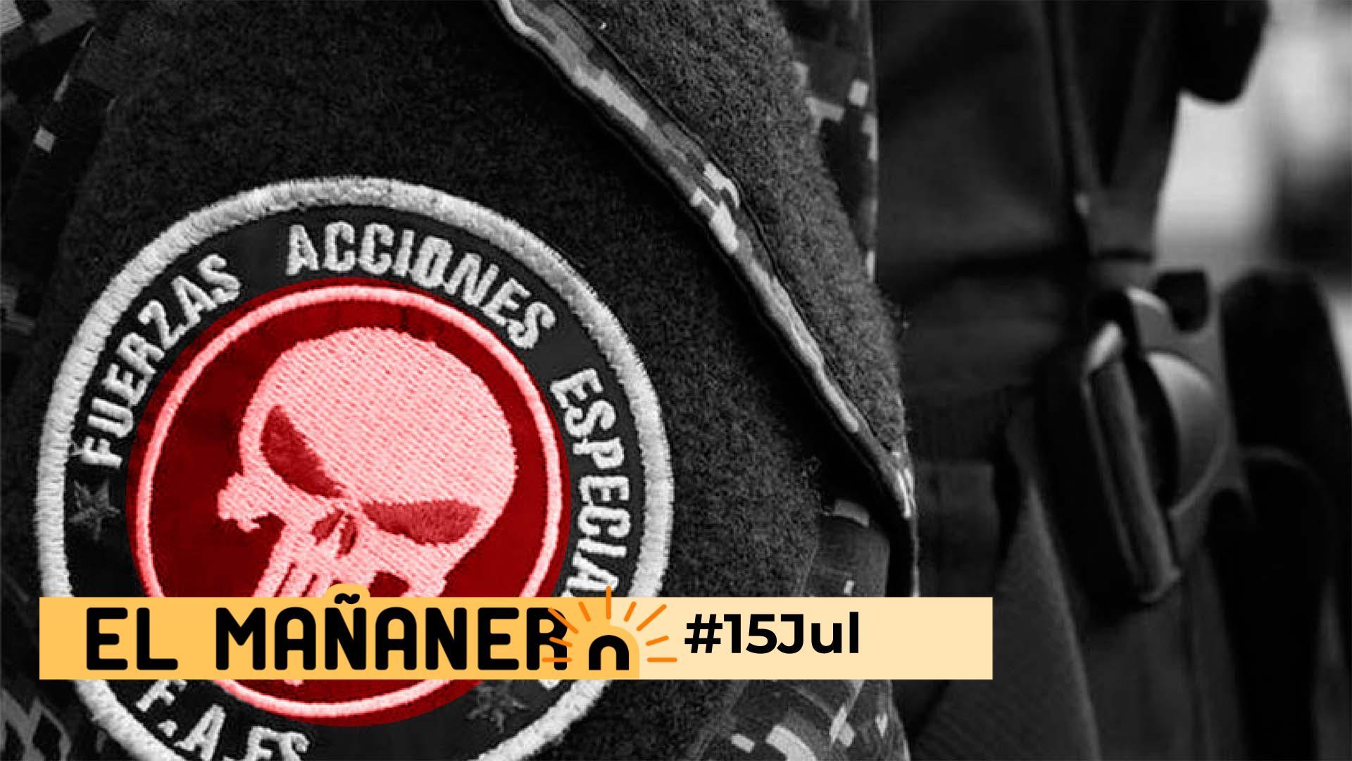 El Mañanero de hoy #15Jul: Las 8 noticias que debes saber