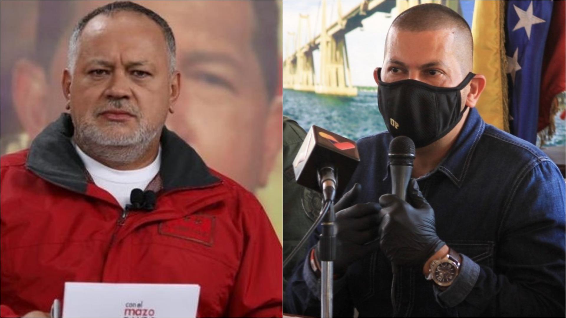 Diosdado Cabello y Omar Prieto anuncian que dieron positivo para COVID-19