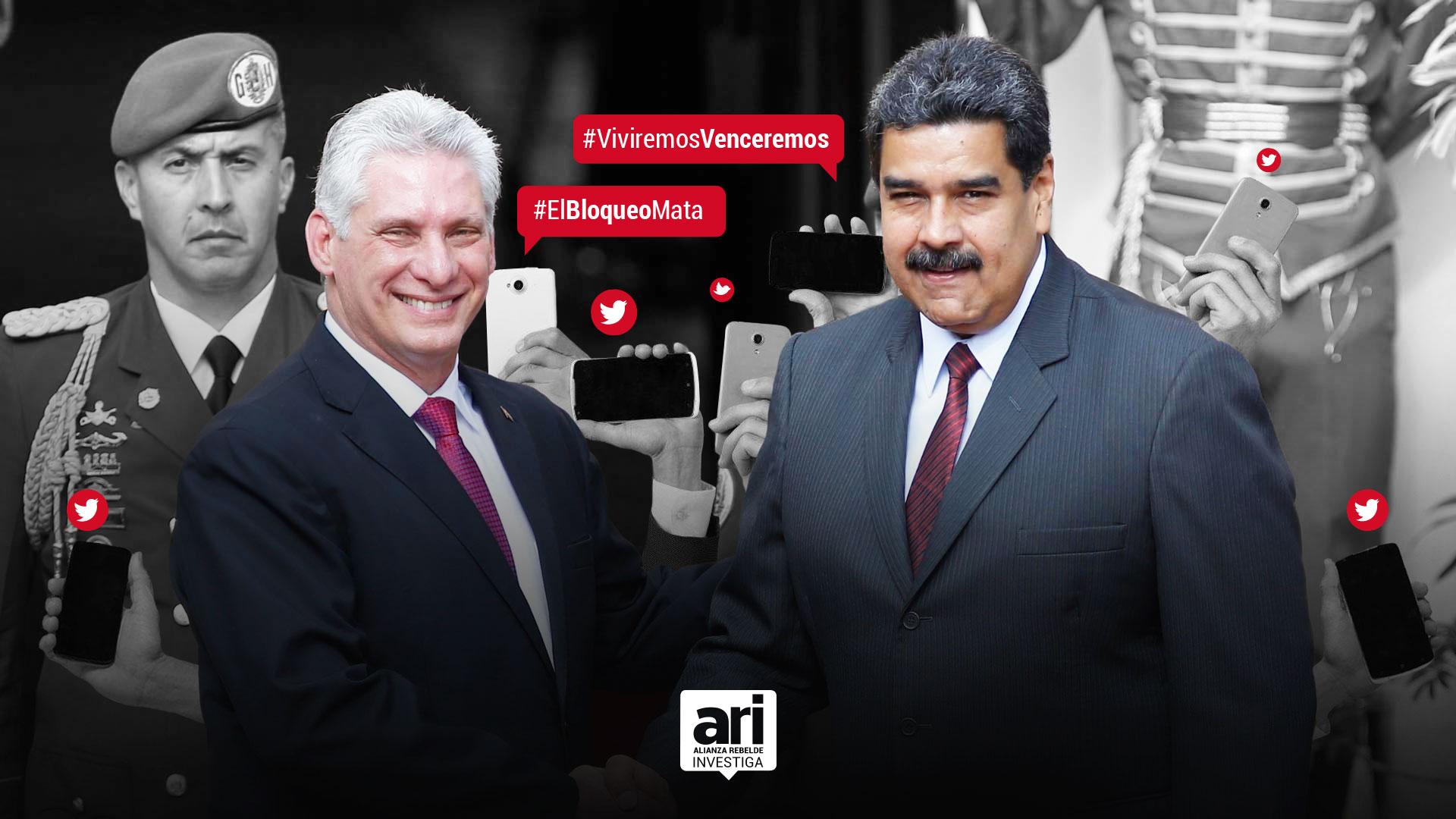 La tropa digital de Maduro tiene acento cubano