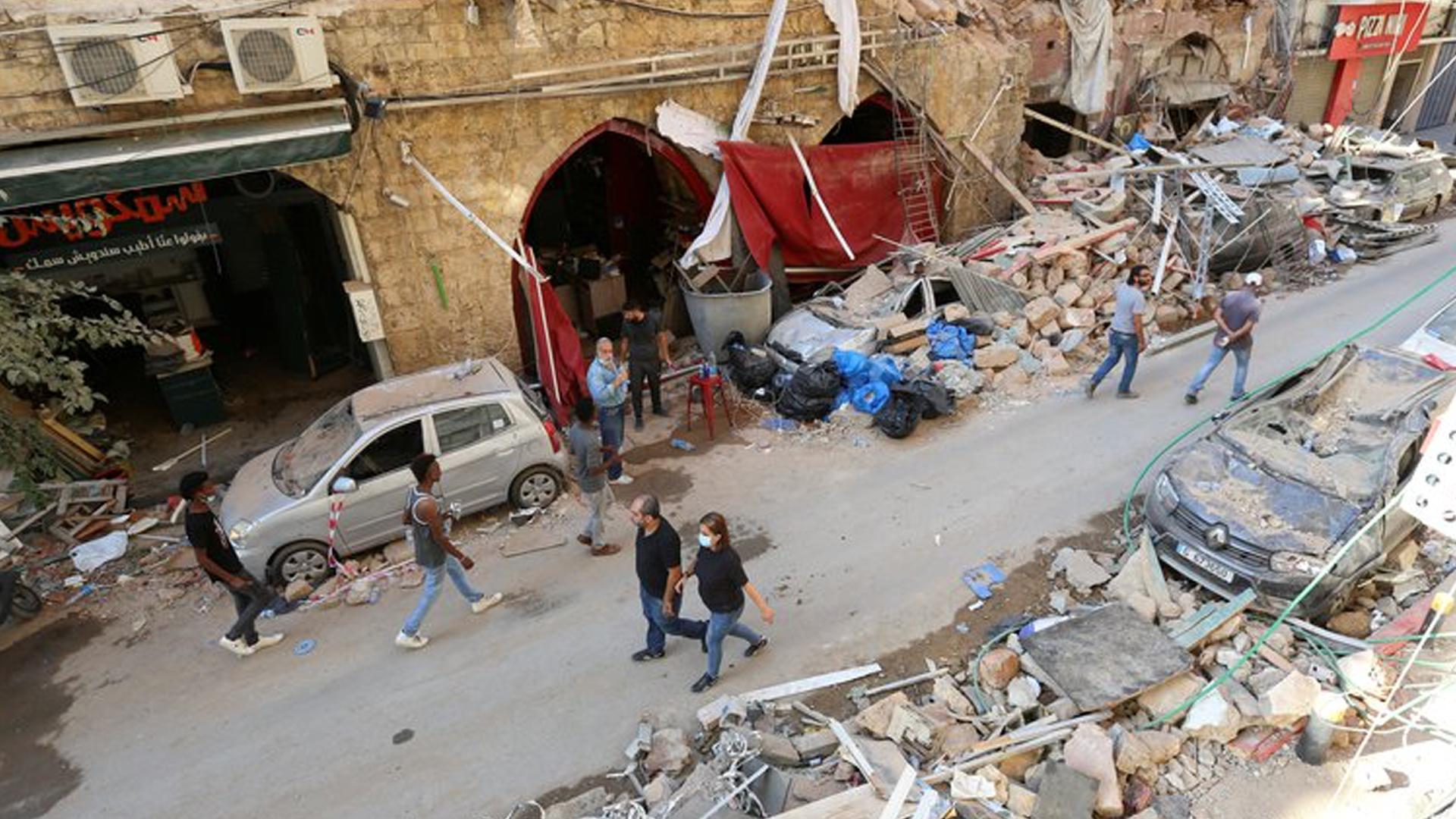 Cifra oficial de fallecidos por explosión en Beirut se eleva a 154