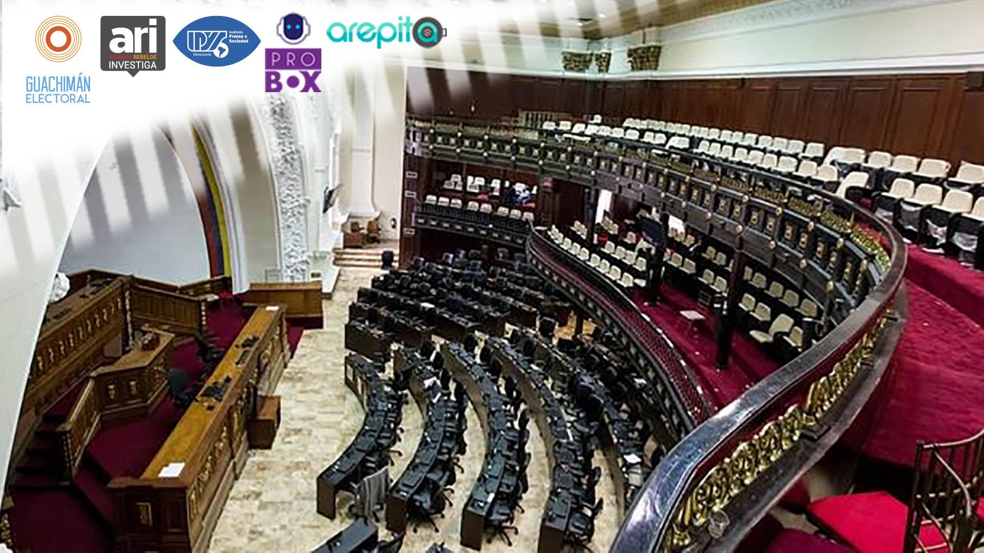 #GuachimánElectoral | Del 52% de los diputados elegidos el #6D no se sabrá ni el nombre