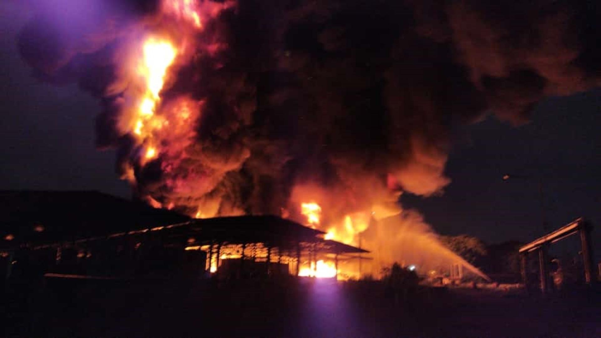Se registra incendio en planta de Goodyear en Carabobo