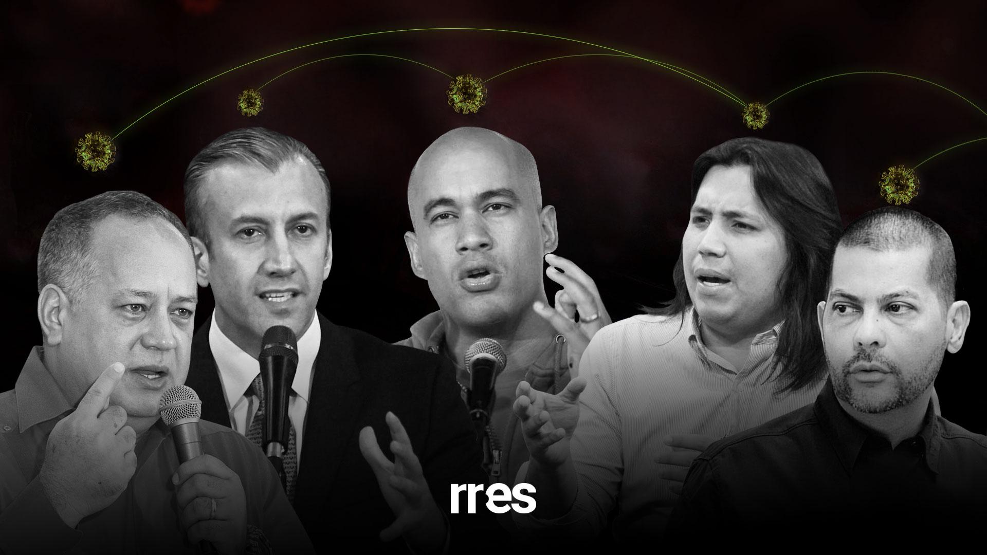 """La cúpula chavista no cumplió con la """"cuarentena radical"""""""