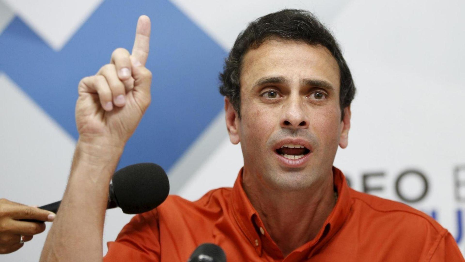 Capriles rechaza que Maduro diseñe