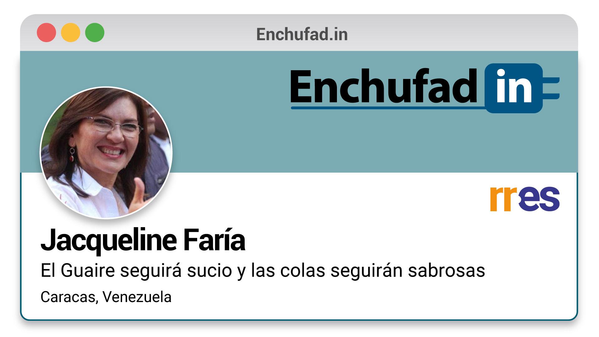 #EnchufaDÍN | Felicita a Jacqueline Faría por su nuevo cargo