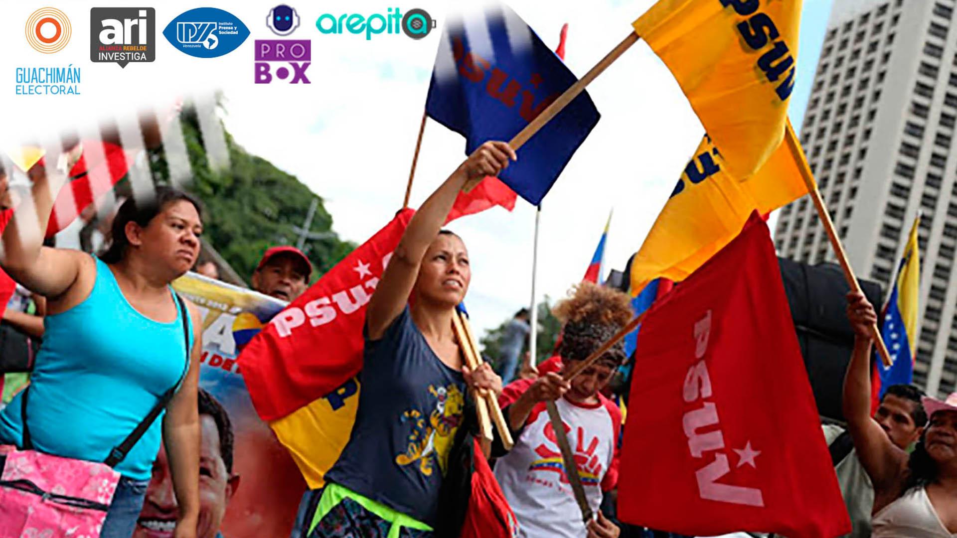 #GuachimánElectoral | Ventajismo oficialista gana terreno para las parlamentarias bajo la mirada del CNE