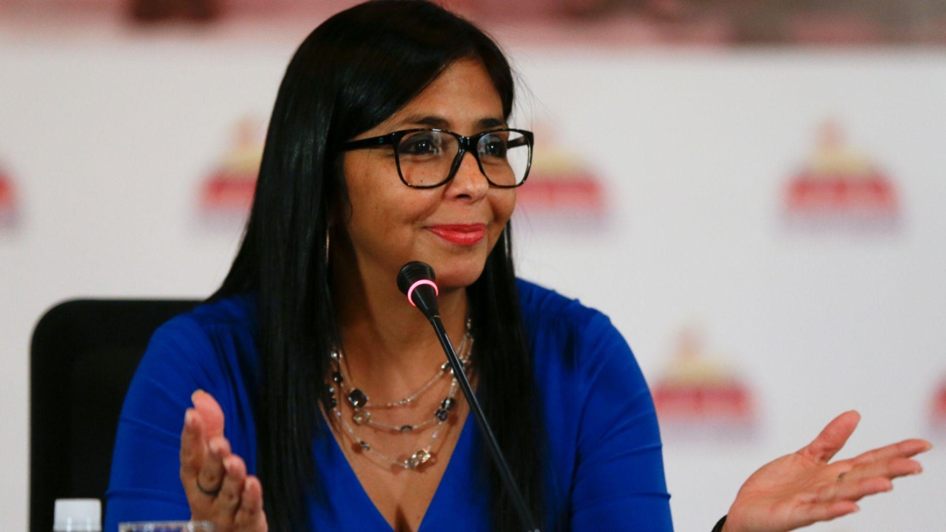 """Delcy Rodríguez: """"En Venezuela está descartada la desaparición del bolívar"""""""