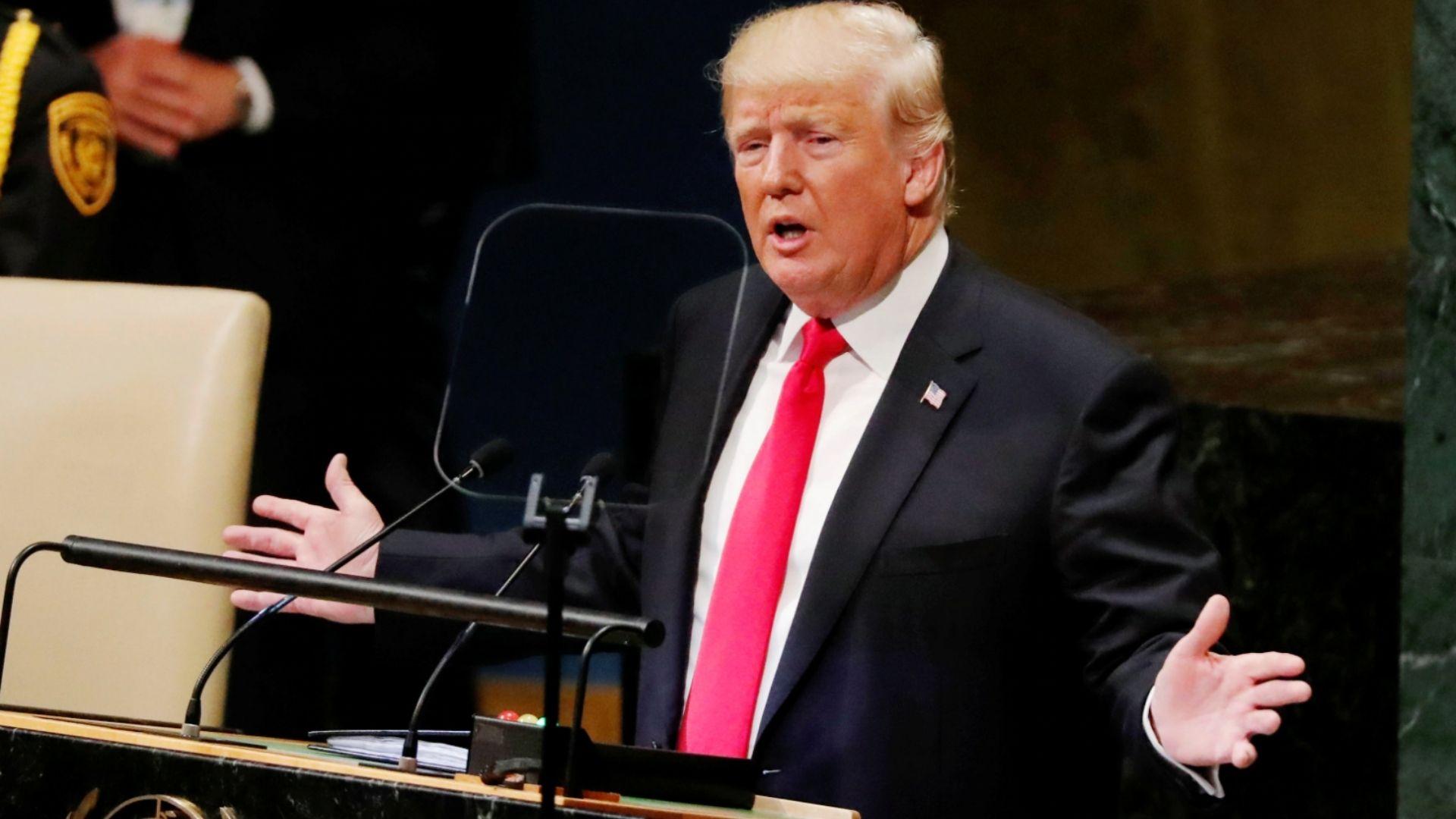 Trump defiende lucha por la libertad en Venezuela, Cuba y Nicaragua