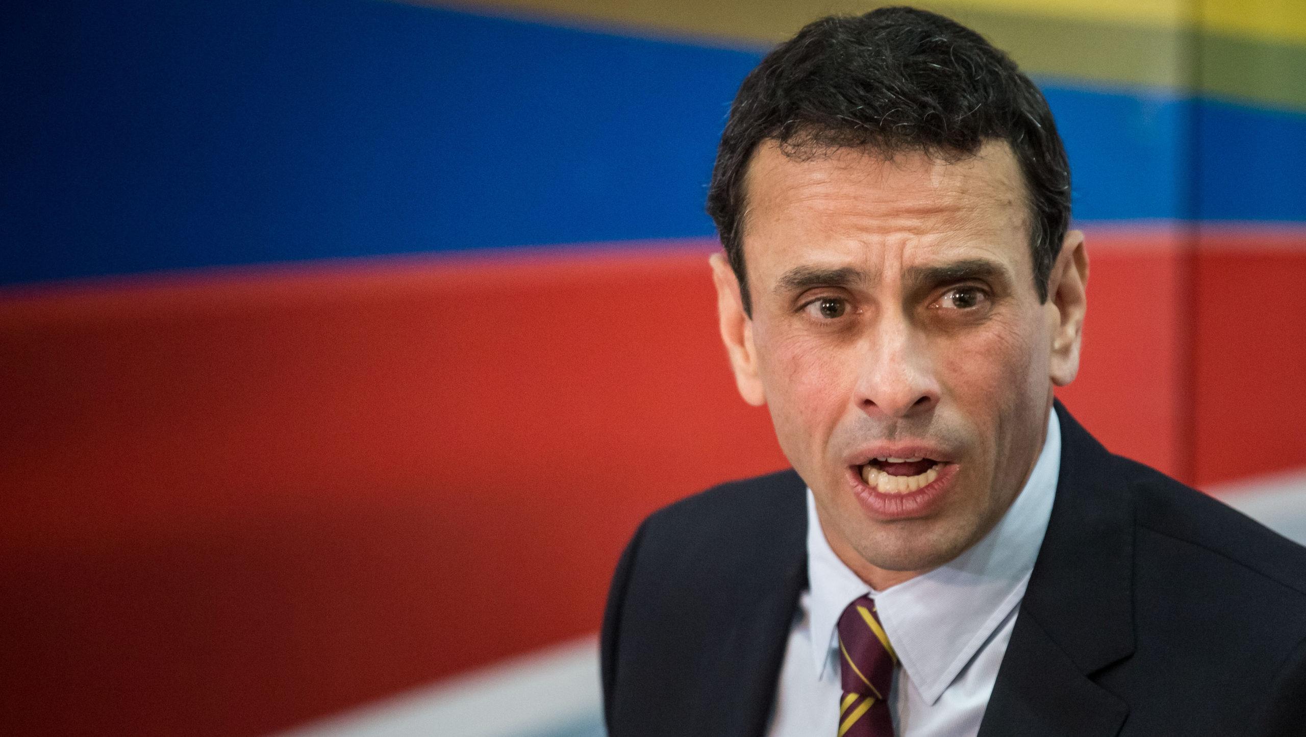 Capriles: Debemos luchar para lograr condiciones que permitan expresarnos libremente