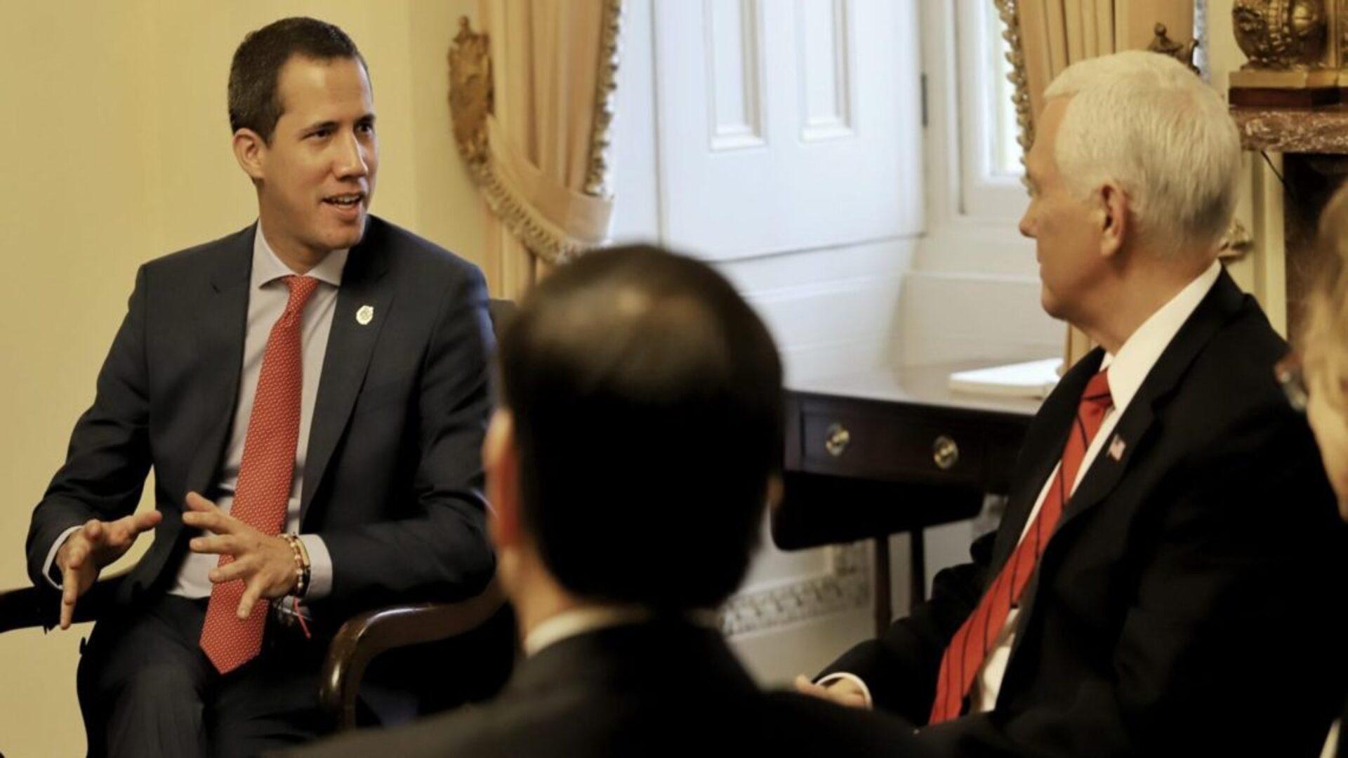 Mike Pence ratifica el apoyo de EEUU a Guaidó