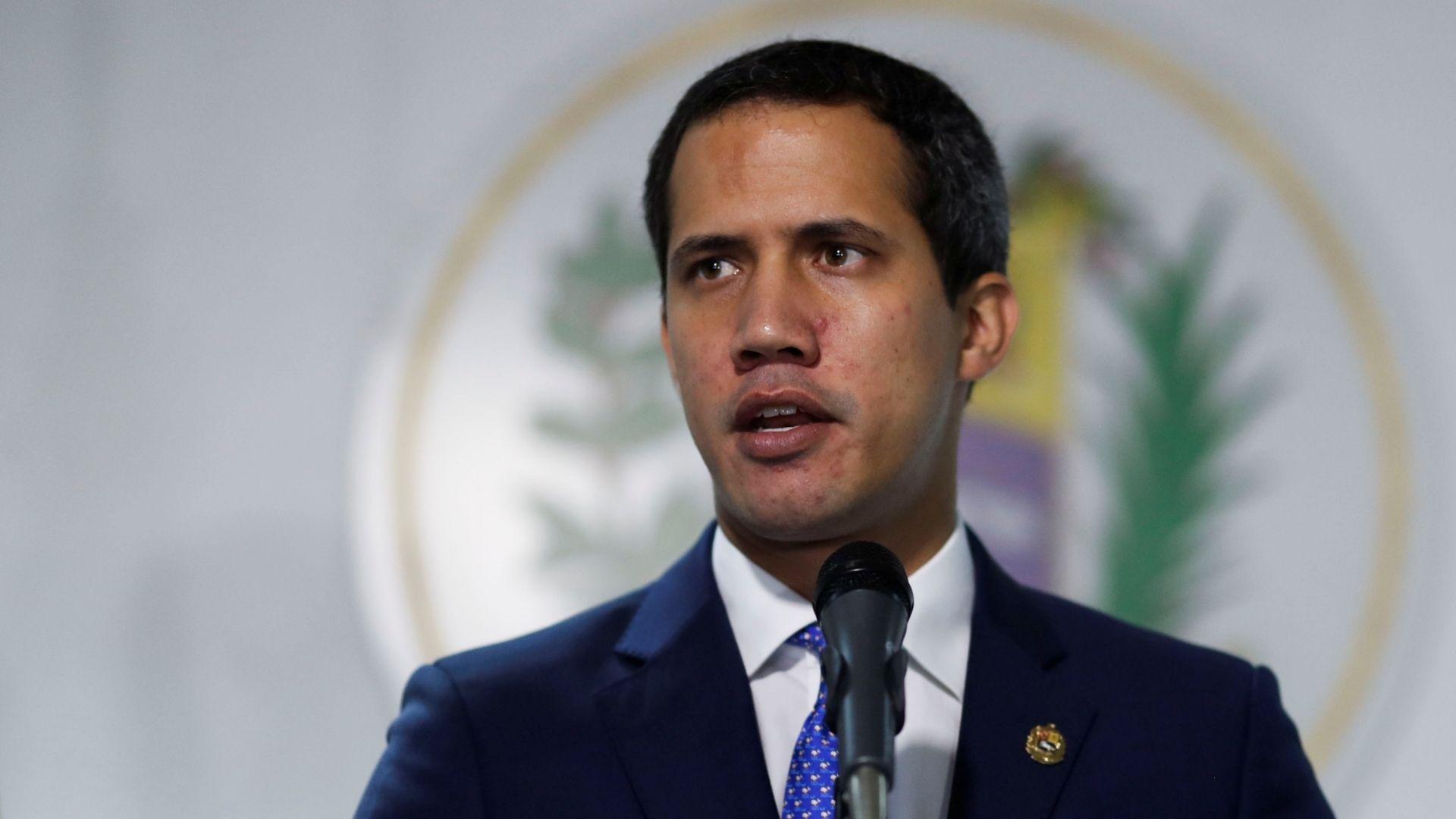 Guaidó pidió más presión internacional para lograr la transición