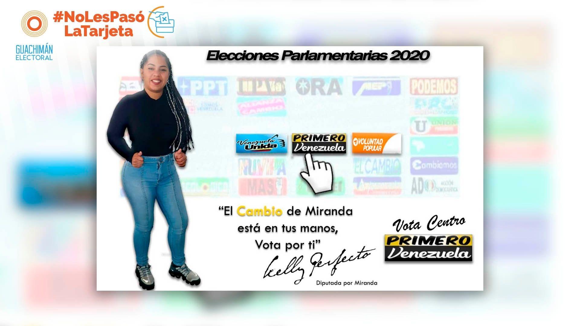 NoLesPasóLaTarjeta | Arkiely Perfecto y Lucila Pacheco aplicaron el doble salto