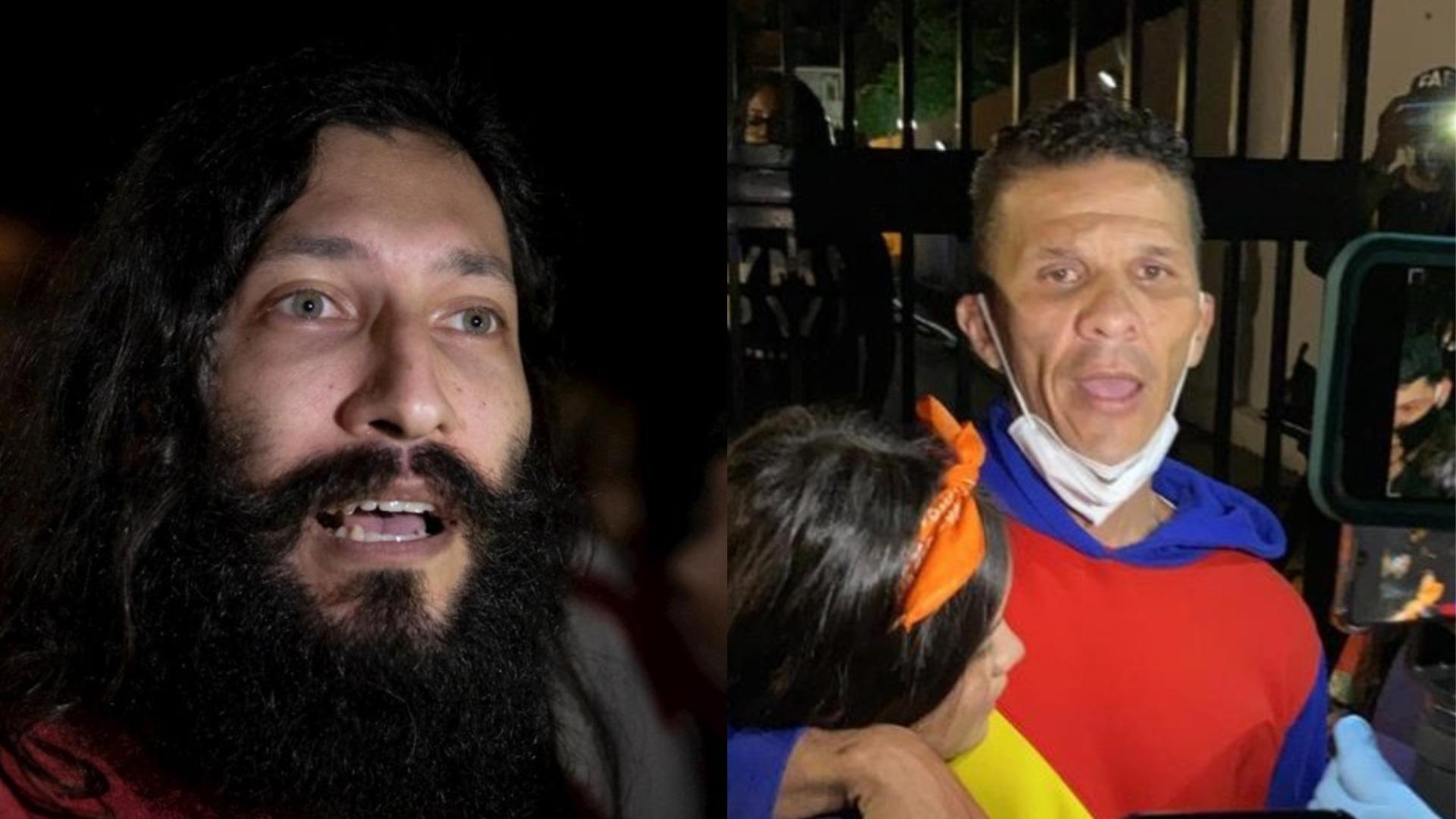 Renzo Prieto y Gilber Caro cuentan sus duras vivencias siendo presos políticos