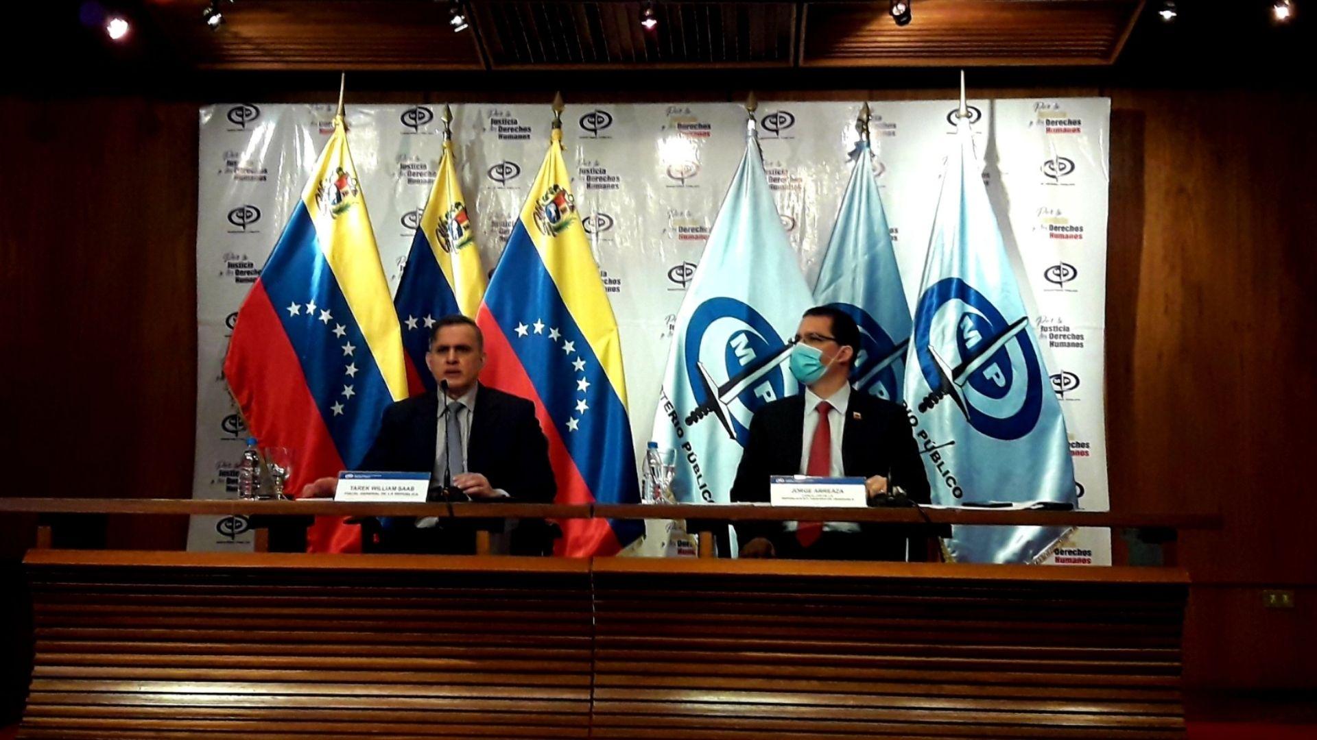 Tarek William Saab y Jorge Arreaza fustigan informe de la ONU