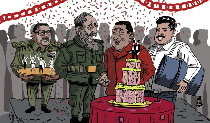 ESPECIAL Cuba y Venezuela: 20 años de un matrimonio conveniente y dispar