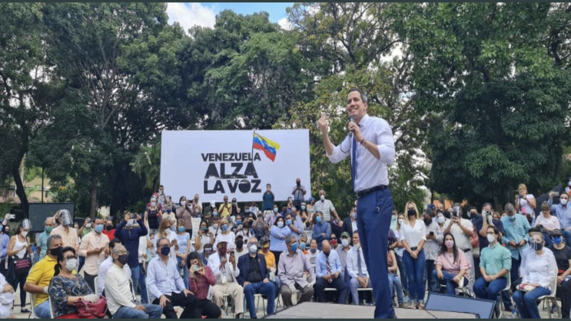 Guaidó asegura que en los próximos días se anunciará fecha de consulta popular