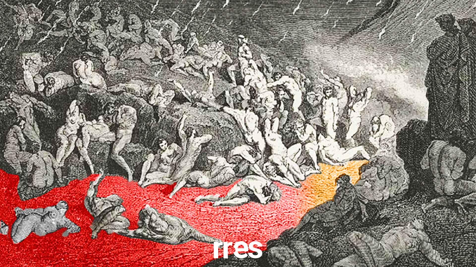 El séptimo círculo del infierno, por José Guerra