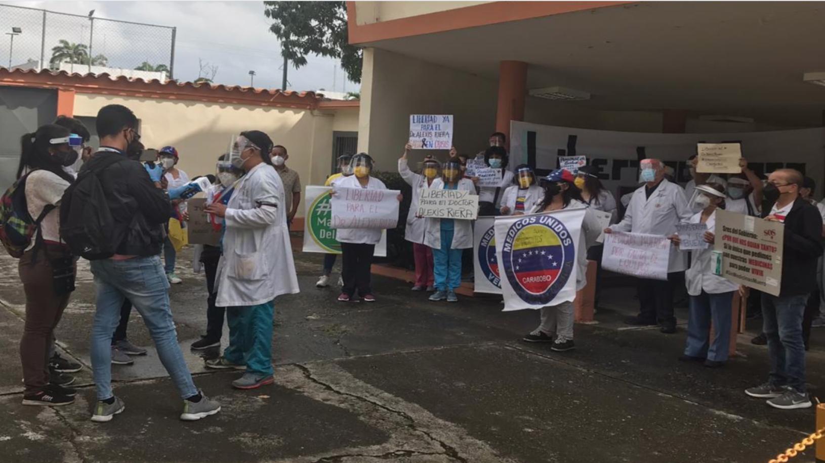 Médicos de Carabobo denuncian que no tienen insumos para hacer frente al COVID-19