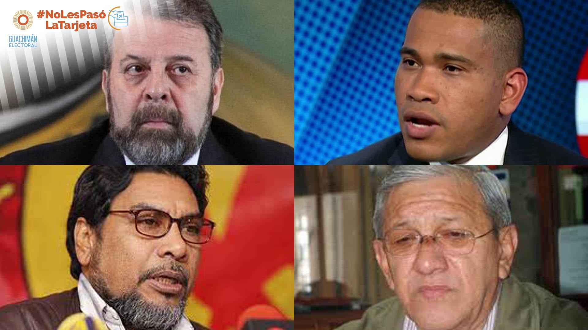 #NoLesPasóLaTarjeta | Los ases de los partidos encabezan la lista nacional