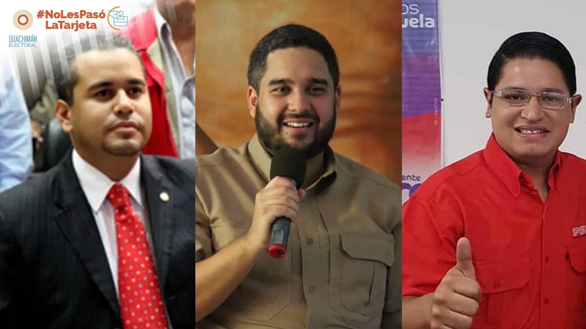 NoLesPasóLaTarjeta | Entre los candidatos junior del Psuv el abolengo cuenta