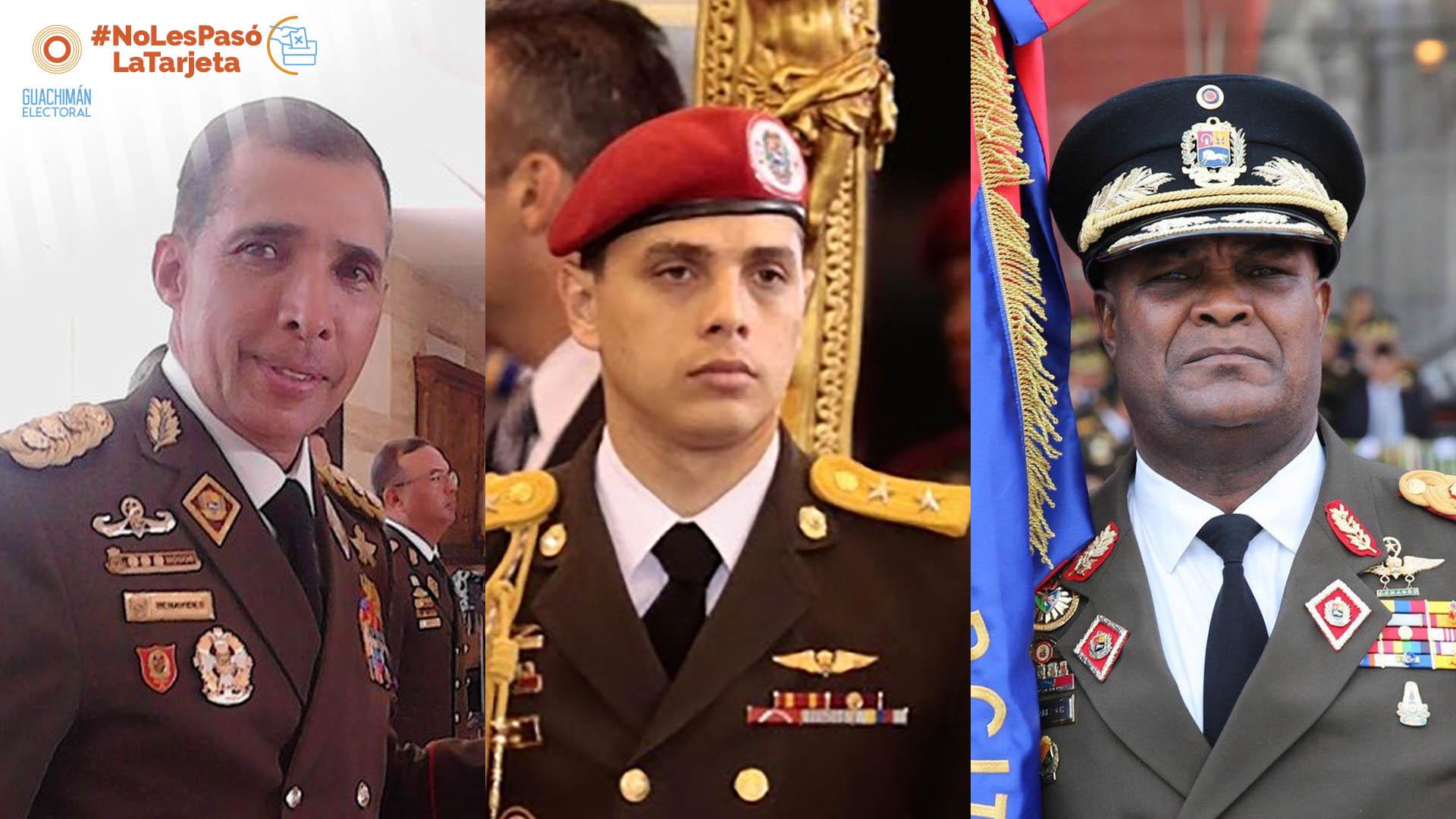 NoLesPasóLaTarjeta | Militares señalados de represores buscan inmunidad