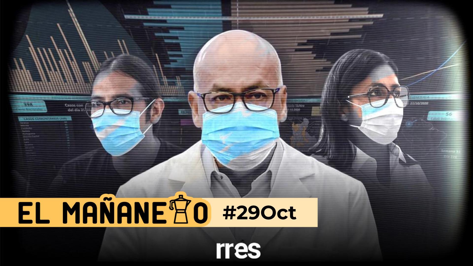 El Mañanero de hoy #29Oct: Las 8 noticias que debes saber