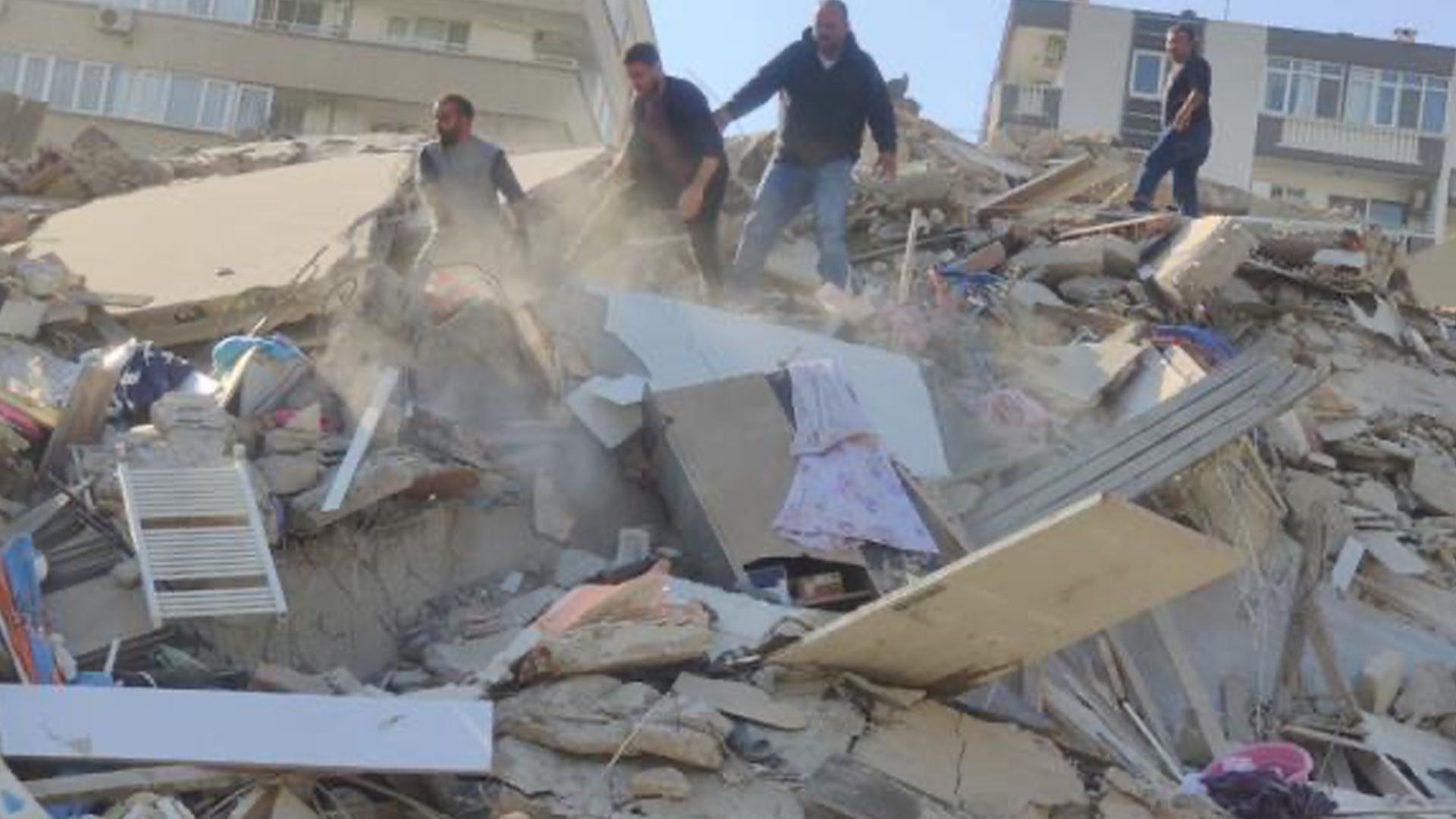 VIDEOS | Fuerte sismo de magnitud 6,8 sacudió a Grecia y Turquía