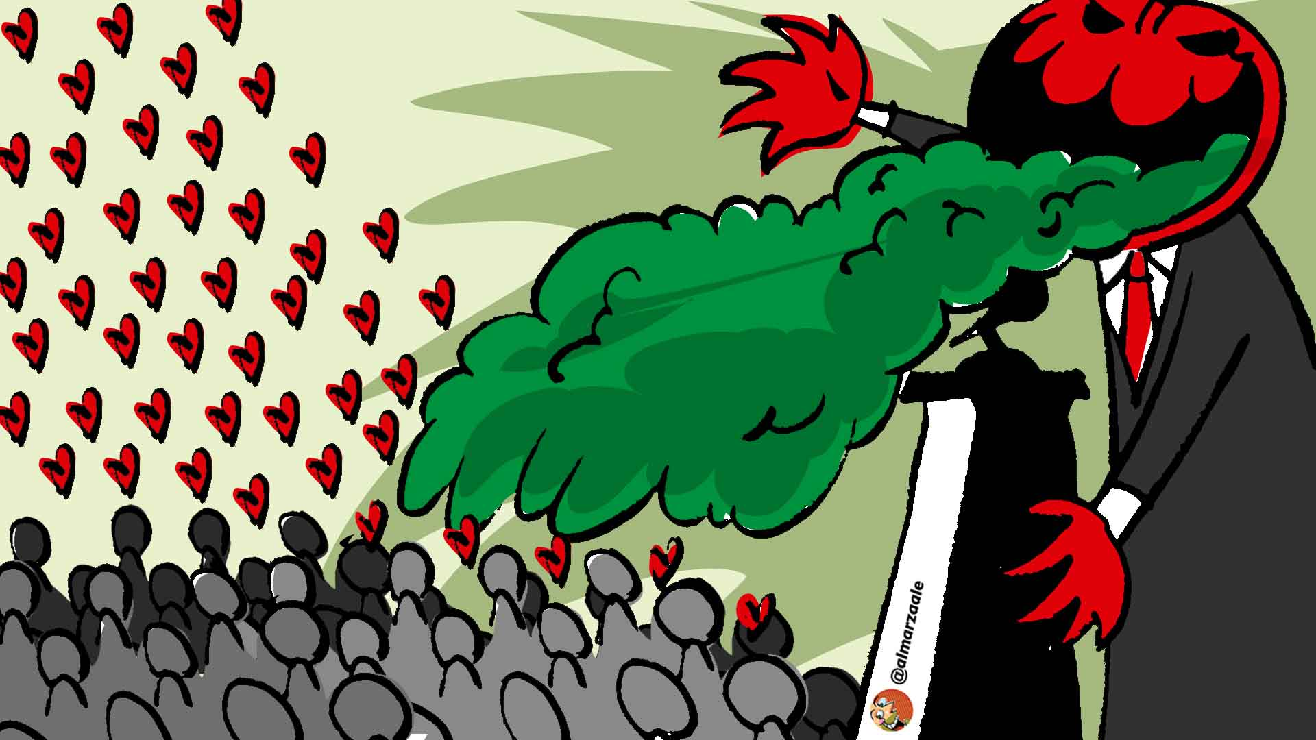 Tutorial para dar un discurso de izquierda, por Reuben Morales
