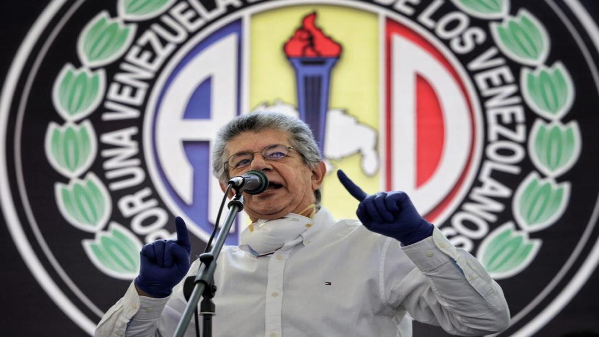 Ramos Allup confirma encuentro de la oposición con Borrell