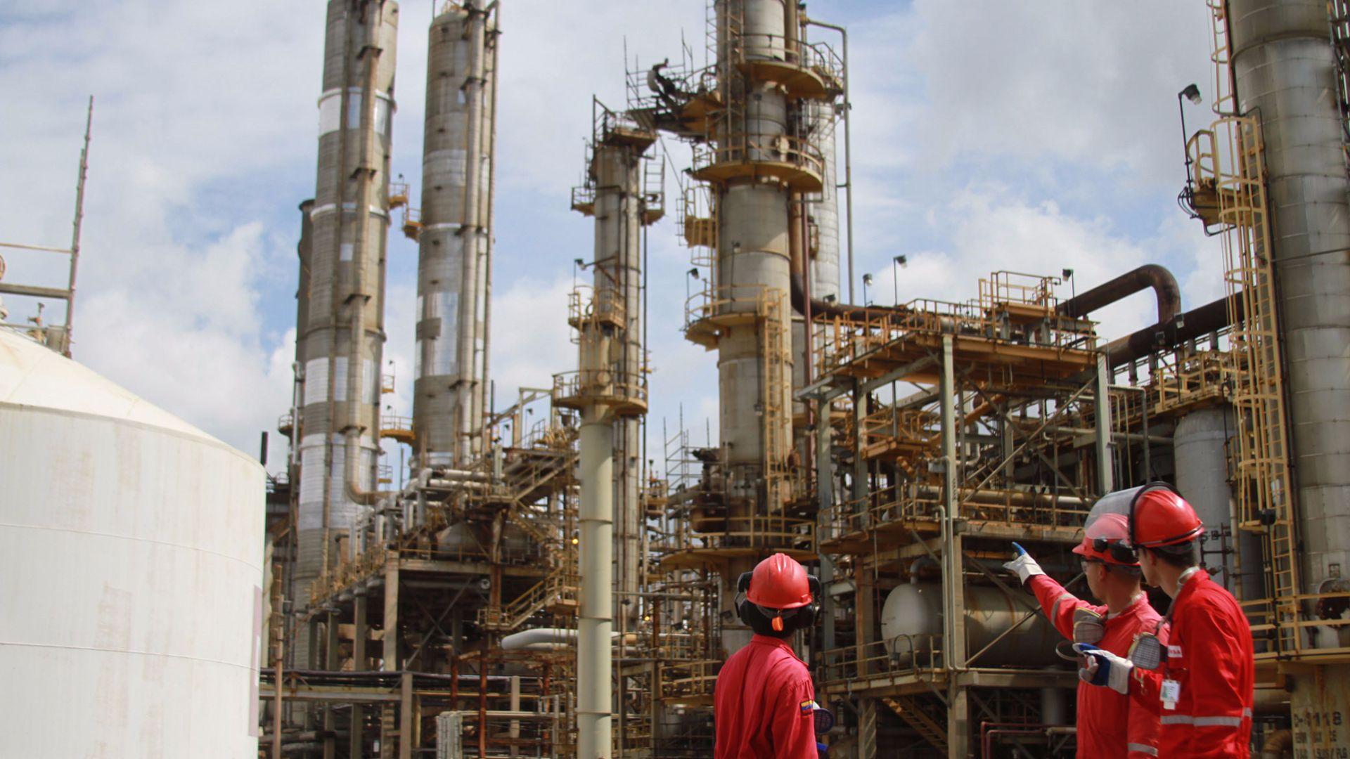 El Palito reanudó producción de gas tras varias semanas inactiva