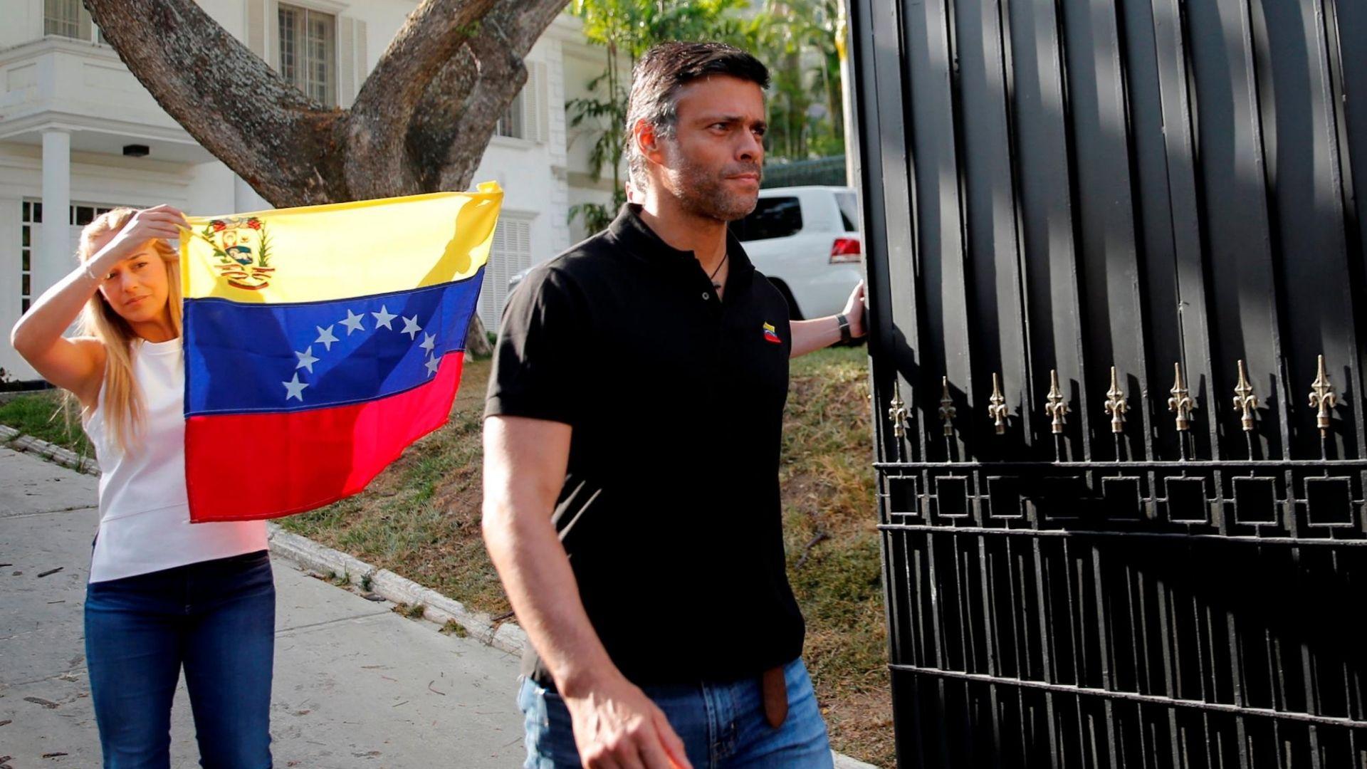 Leopoldo López asegura que habrá un cambio político