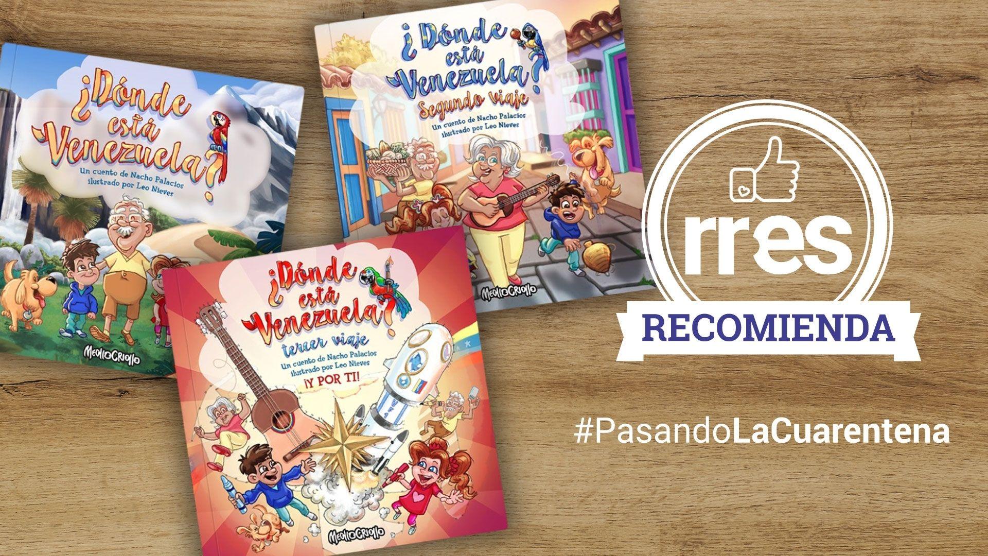 #PasandoLaCuarentena | Meollo Criollo estrena nuevo libro ilustrado para niños