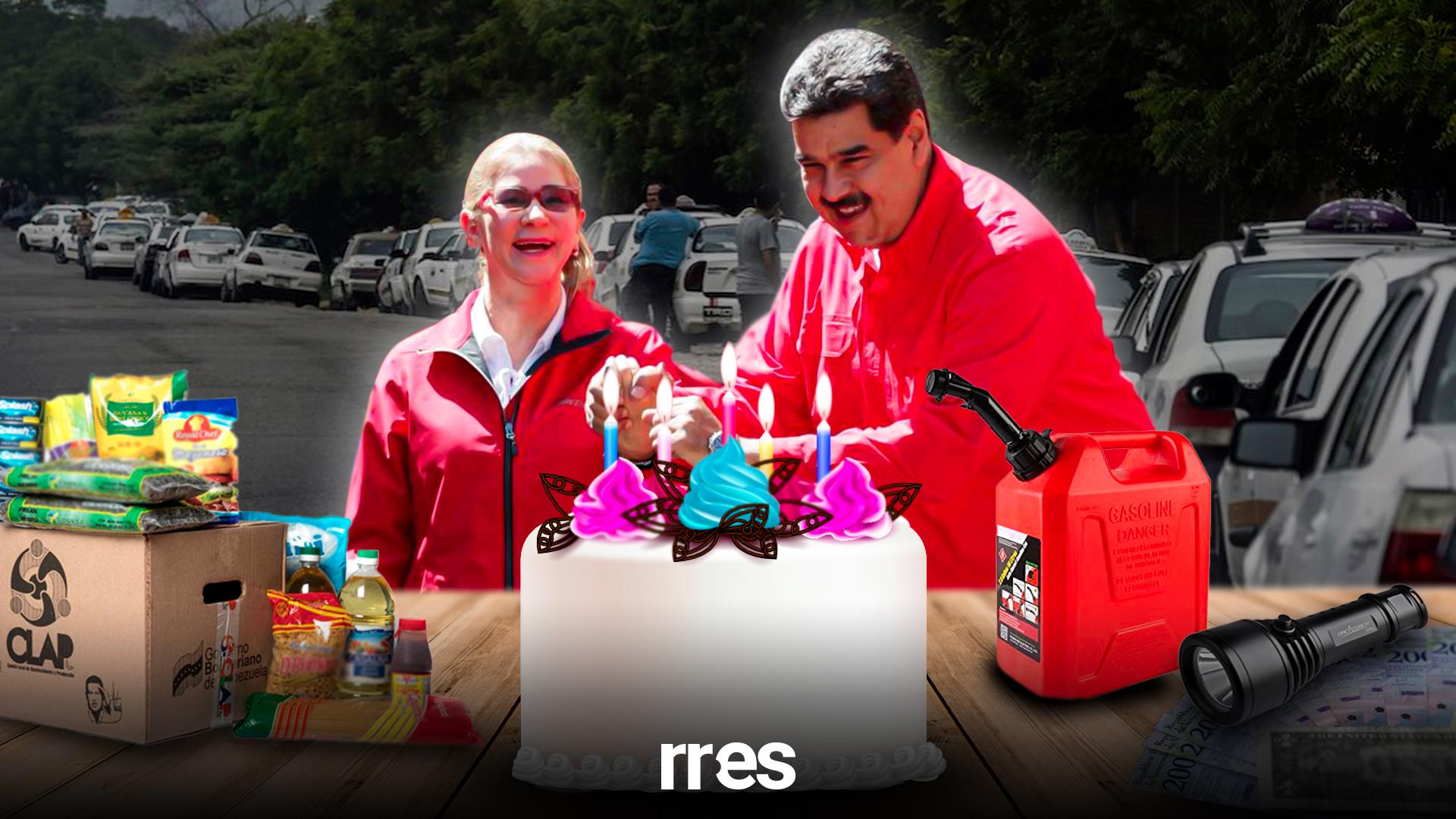 Ocho regalos para Maduro en su cumpleaños 58