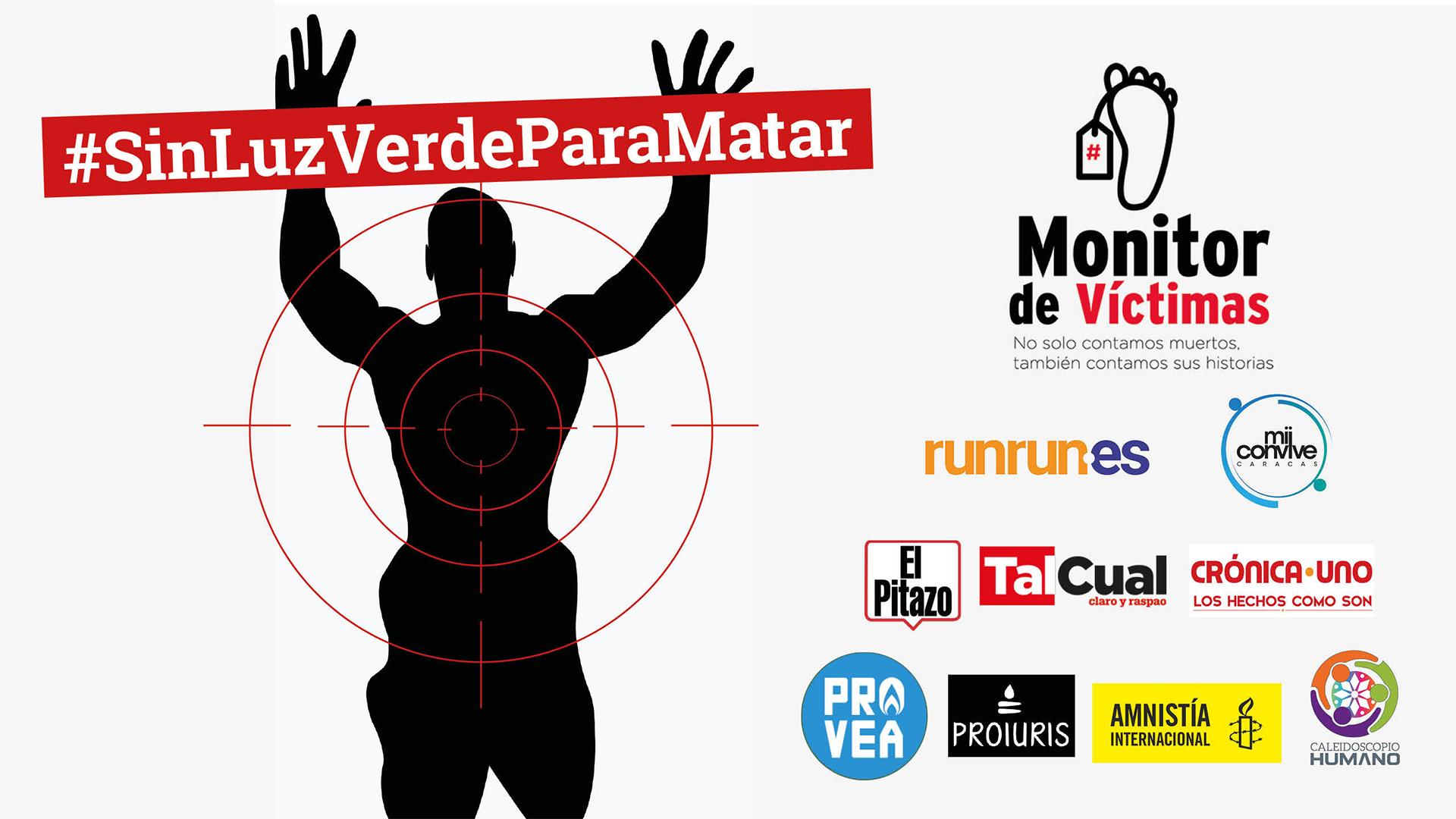 Monitor de Víctimas está en campaña... contra las ejecuciones extrajudiciales