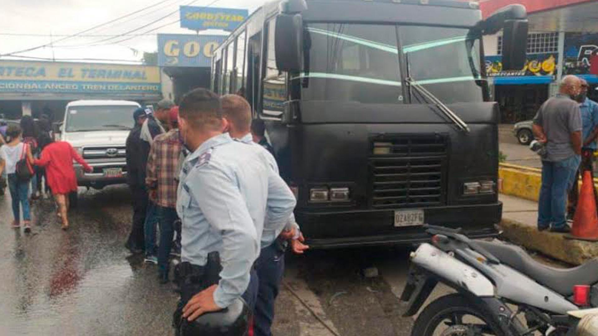 #MonitorDeVictimas | Un fallecido dejó un robo en una unidad de transporte público en Petare
