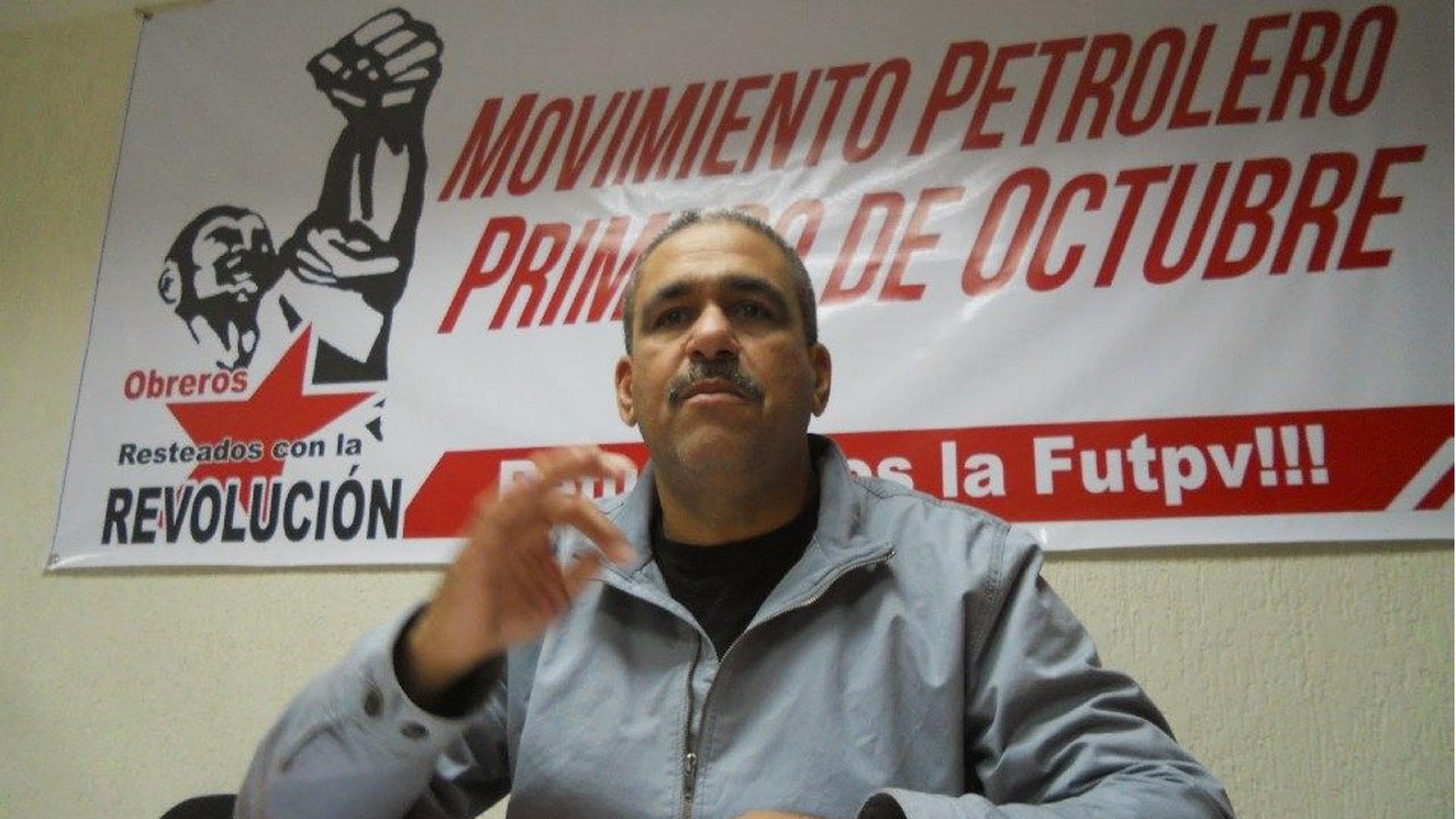 Eudis Girot, dirigente petrolero será trasladado a Tribunales de Caracas